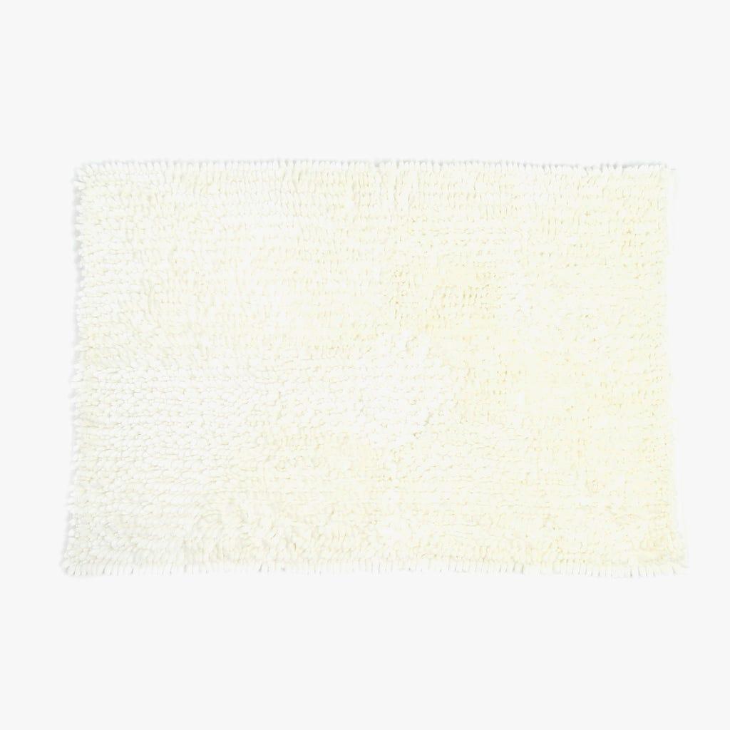 Tapete de Banho Chenila Brilho Natural 60x90 cm