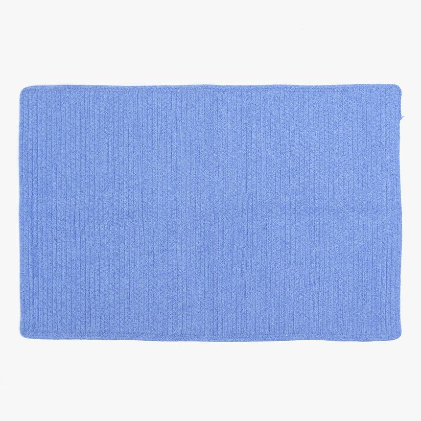 Tapete de Banho Liso Azul 60x90 cm