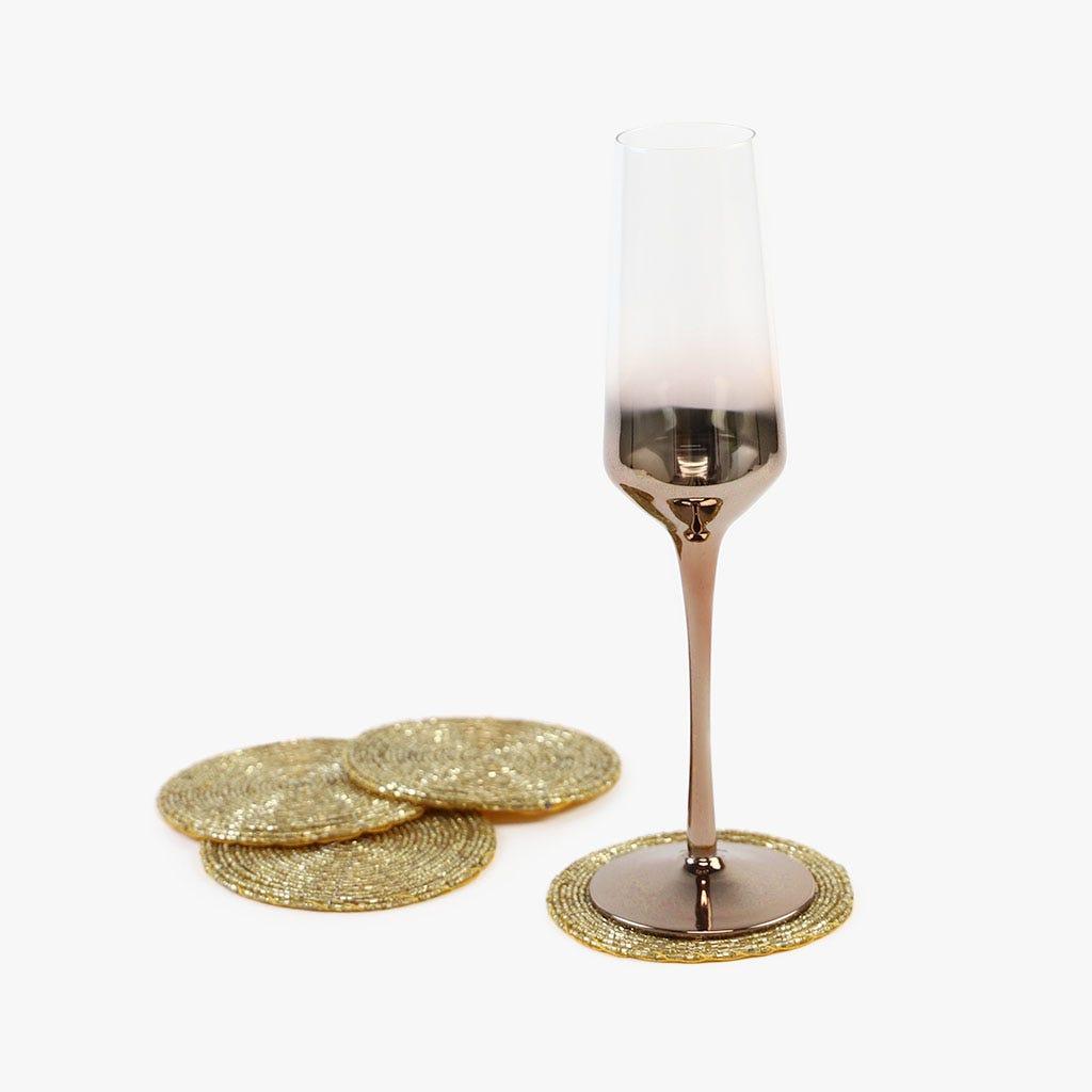 Base para copos Champanhe (conjunto4)
