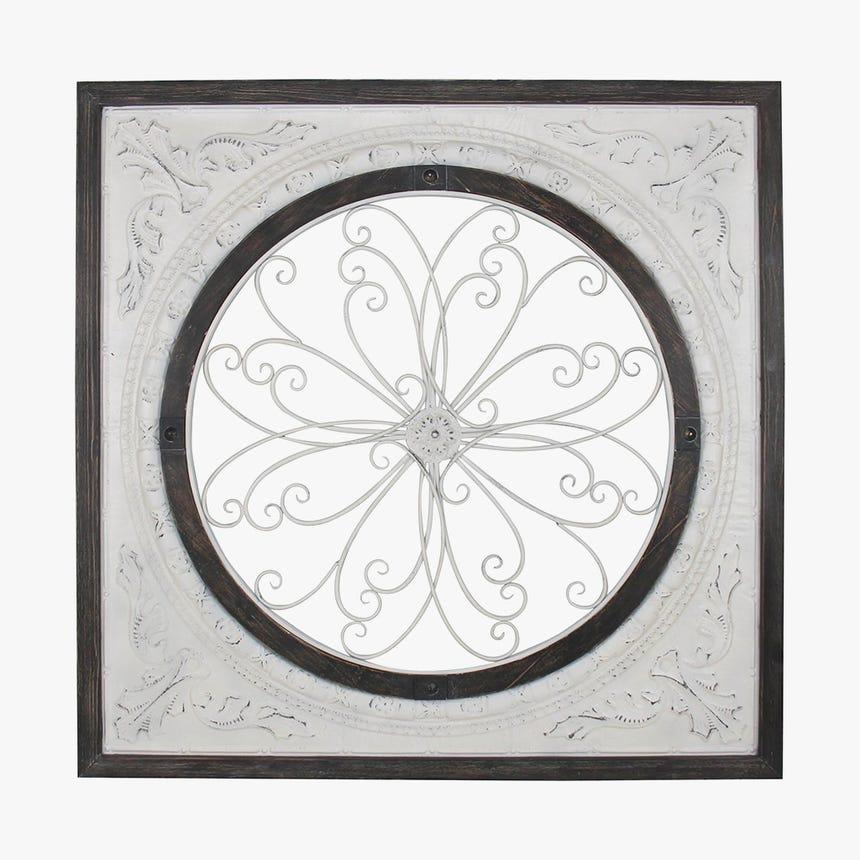 Painel Flor 114x114 cm