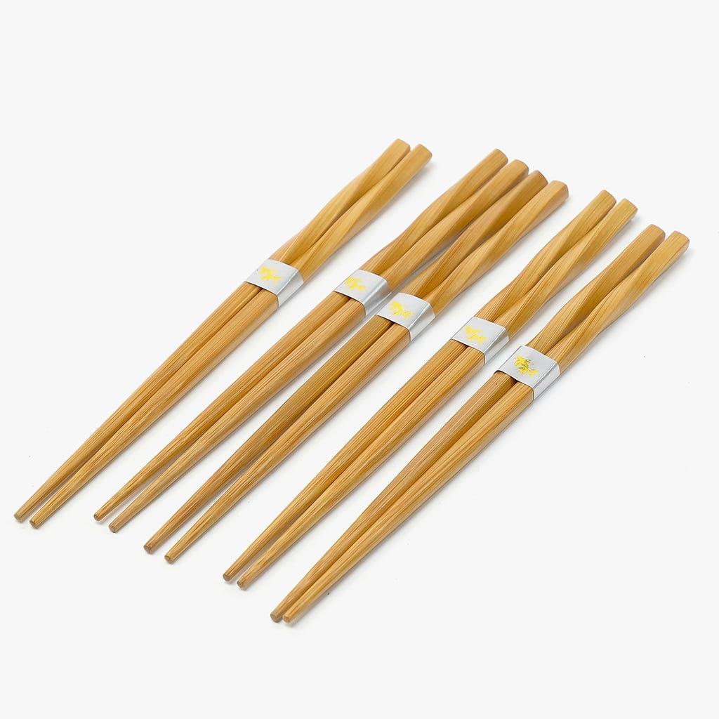 Pauzinhos Bambu (conjunto5)