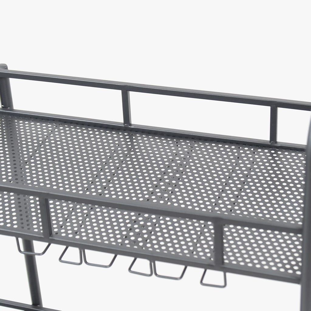 Carrinho de Cozinha Metal70x35x80 cm