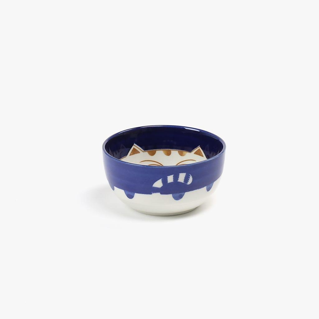 Taça Gato Azul D: 11cm