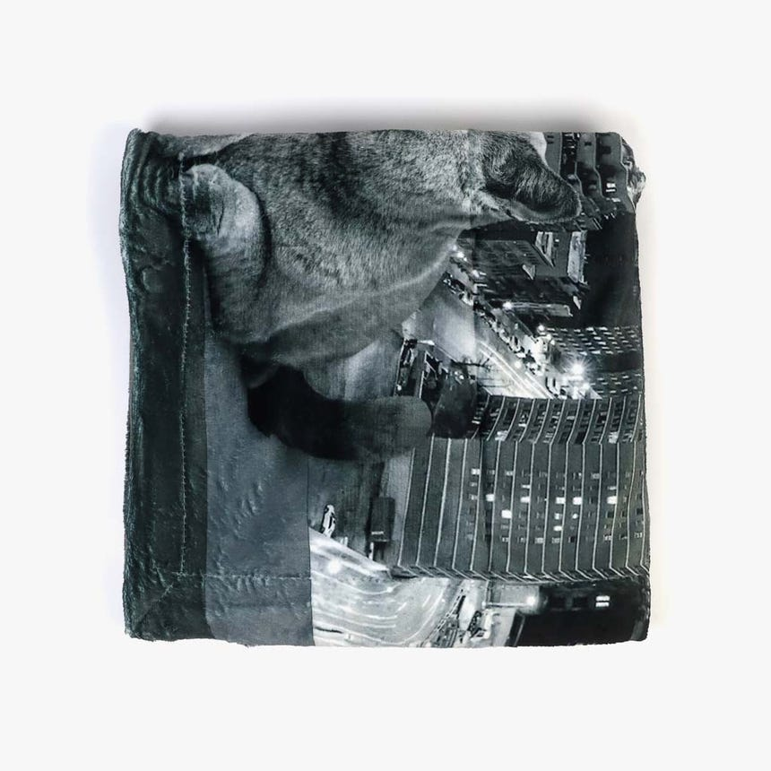 Manta NY Gato 145x170 cm