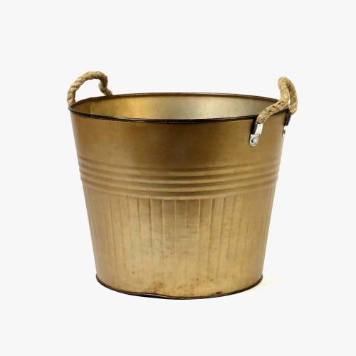 Vaso com pegas Camel 30x30x24 cm