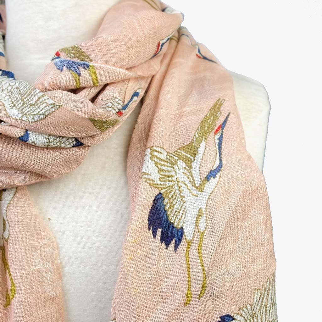Echarpe Sonho de Kioto Rosa 70x180 cm