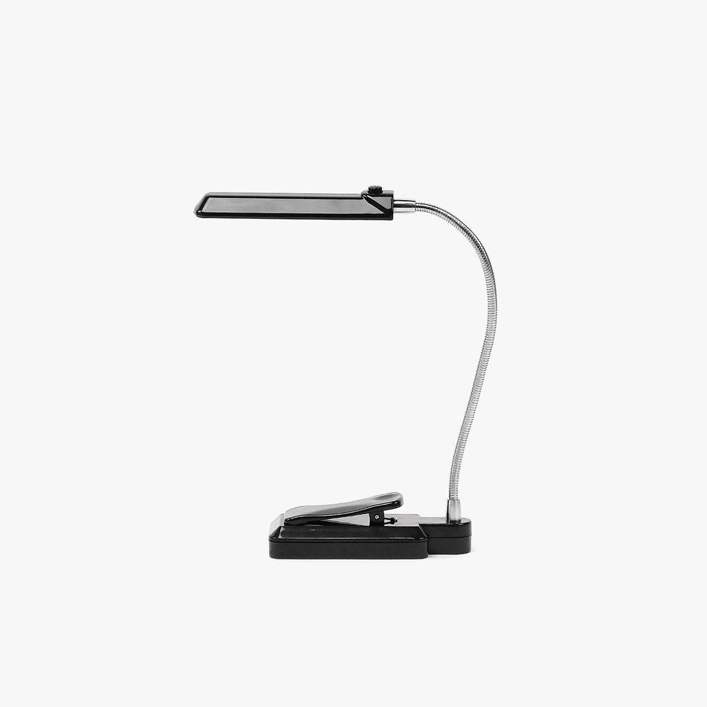 Luz de Leitura 6 LED com Clip Preto