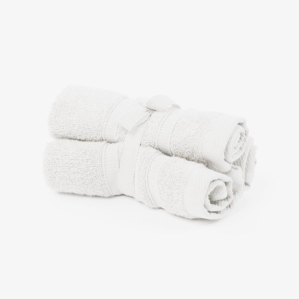 Toalhete Branco 30x30 cm (conjunto3)