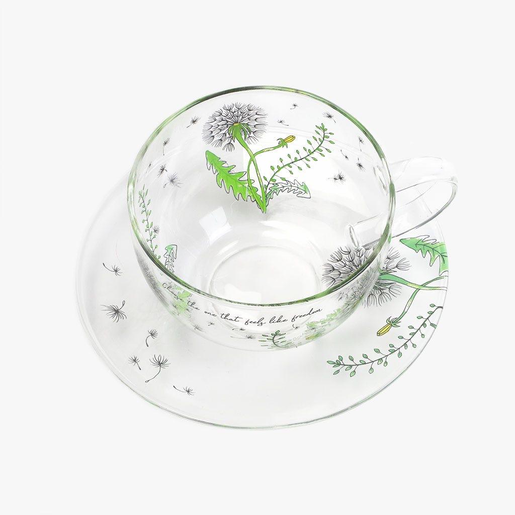 Chávena de Chá + Pires Dandelion 14.5 cm