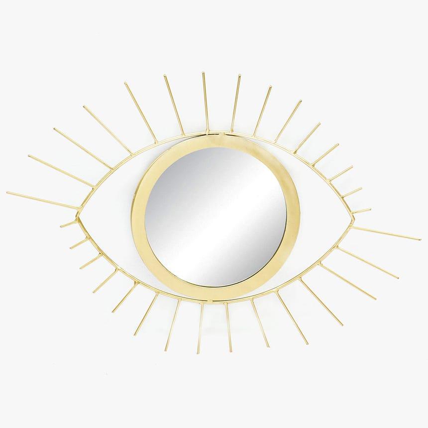 Espelho Olho Dourado62x44 cm