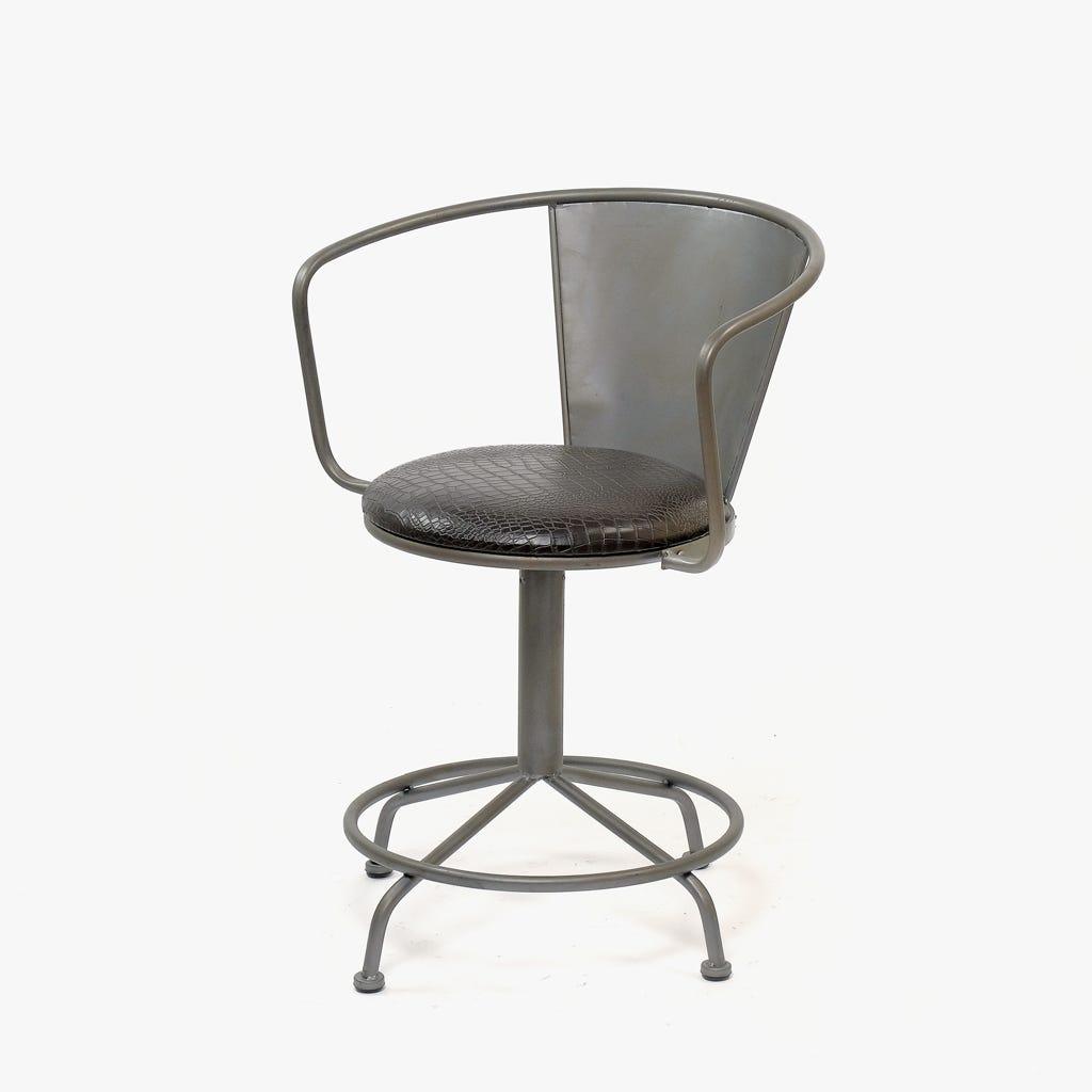 Cadeira Retro Metal 59x41x78 cm