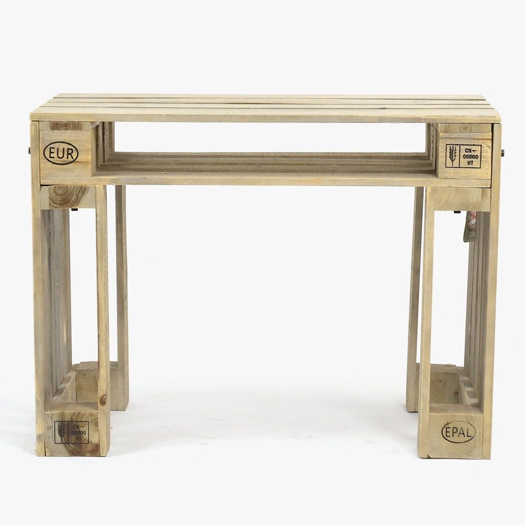 Mesa de Apoio Palete80x50x60 cm