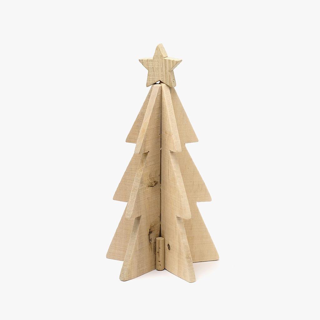 Árvore de Natal Madeira 36 cm