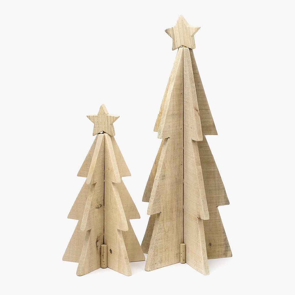 Árvore de Natal Madeira 55 cm