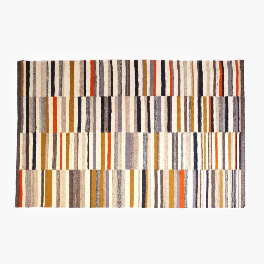 Tapete Riscas Multicolor 170x240 cm