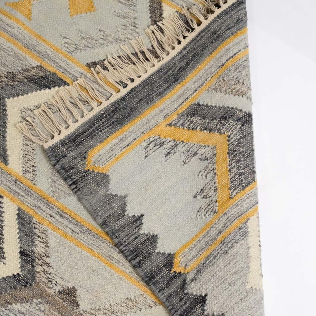 Tapete Losangos Cinza 170x240 cm