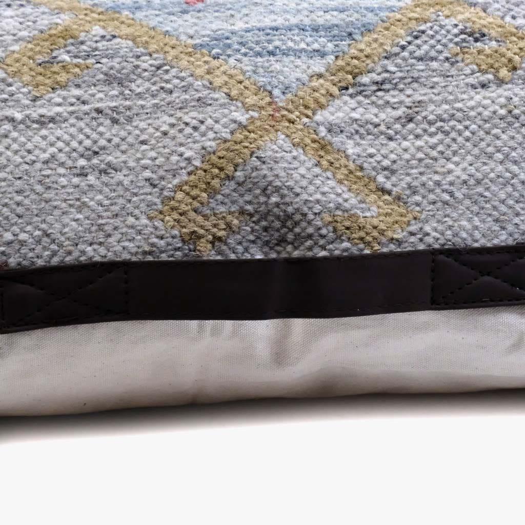 Almofada Kilim Azul 75x75 cm