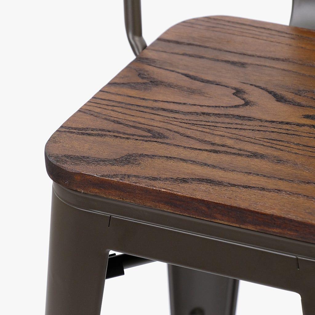 Cadeira Alta Factory Wood 105 cm (conjunto2)