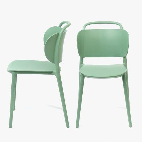 Cadeira Aquiles Menta 49x80 cm (conjunto2)