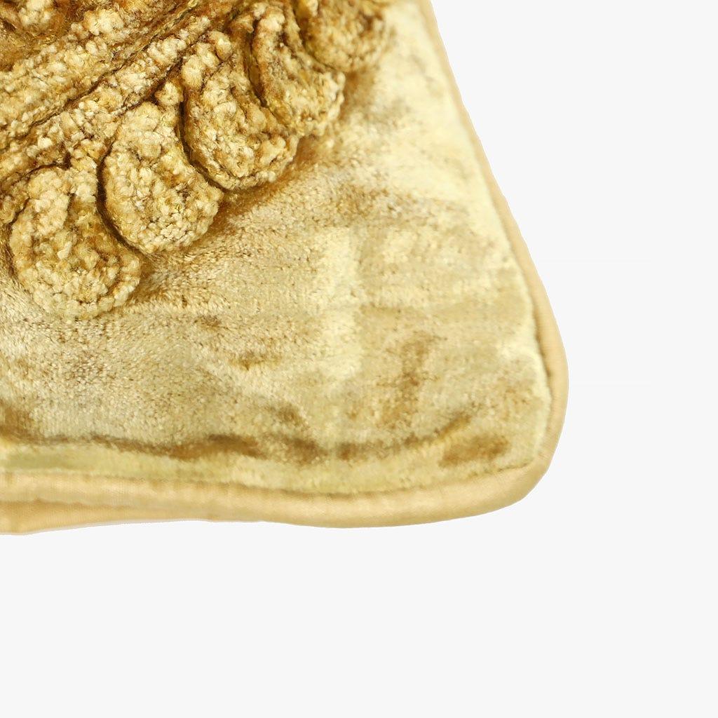 Capa de Almofada Cornucópias Mostarda 45x45 cm