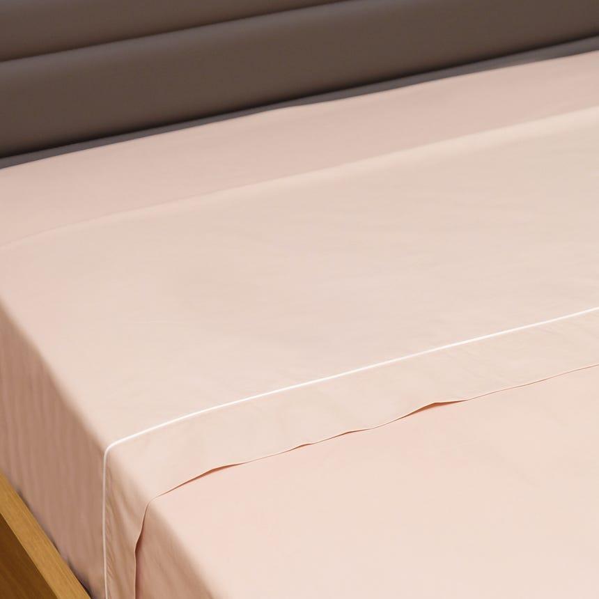 Lençol de Cima Percal Rosa 240x280 cm