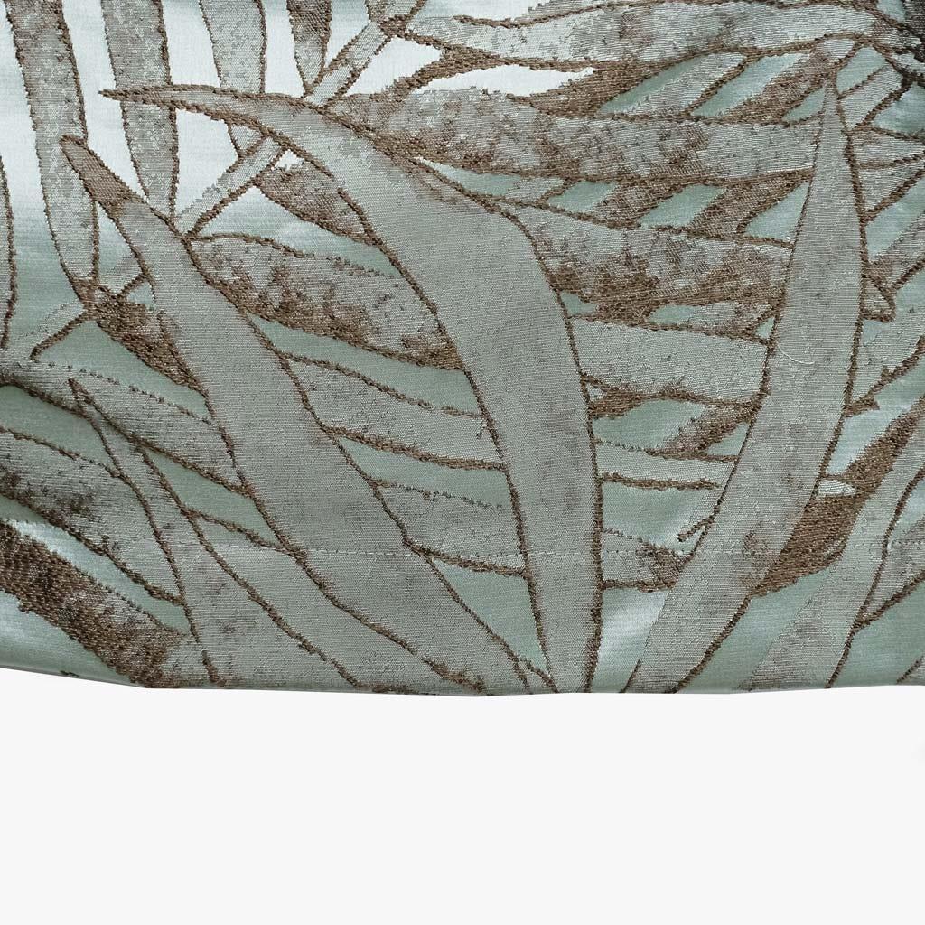 Cortinado Estoril Folha Azul 140x270 cm