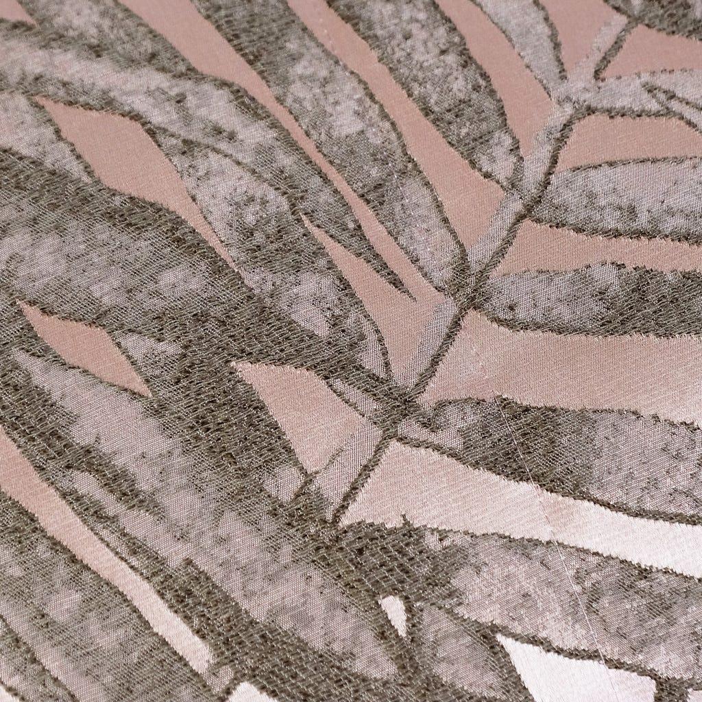 Capa de Almofada Estoril Folha Rosa 50x50 cm
