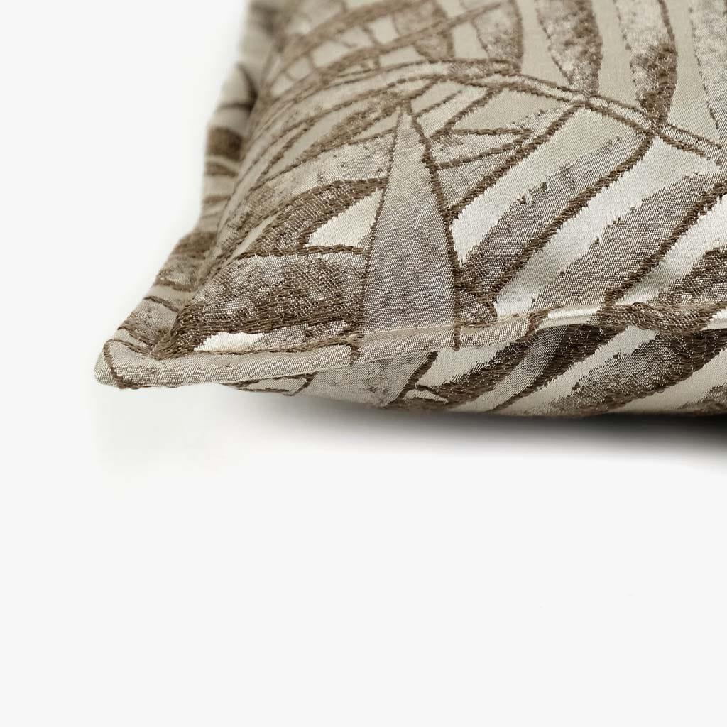 Capa de Almofada Estoril Folha Natural 50x50 cm