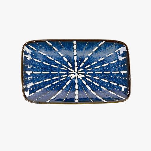 Prato Akita Azul 21.5 cm