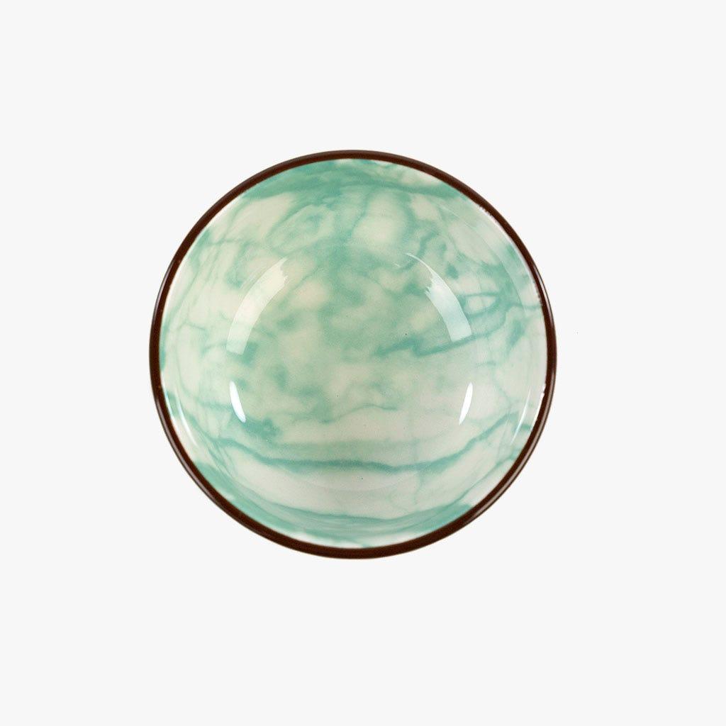 Taça Marmoreada Aqua 7.6 cm