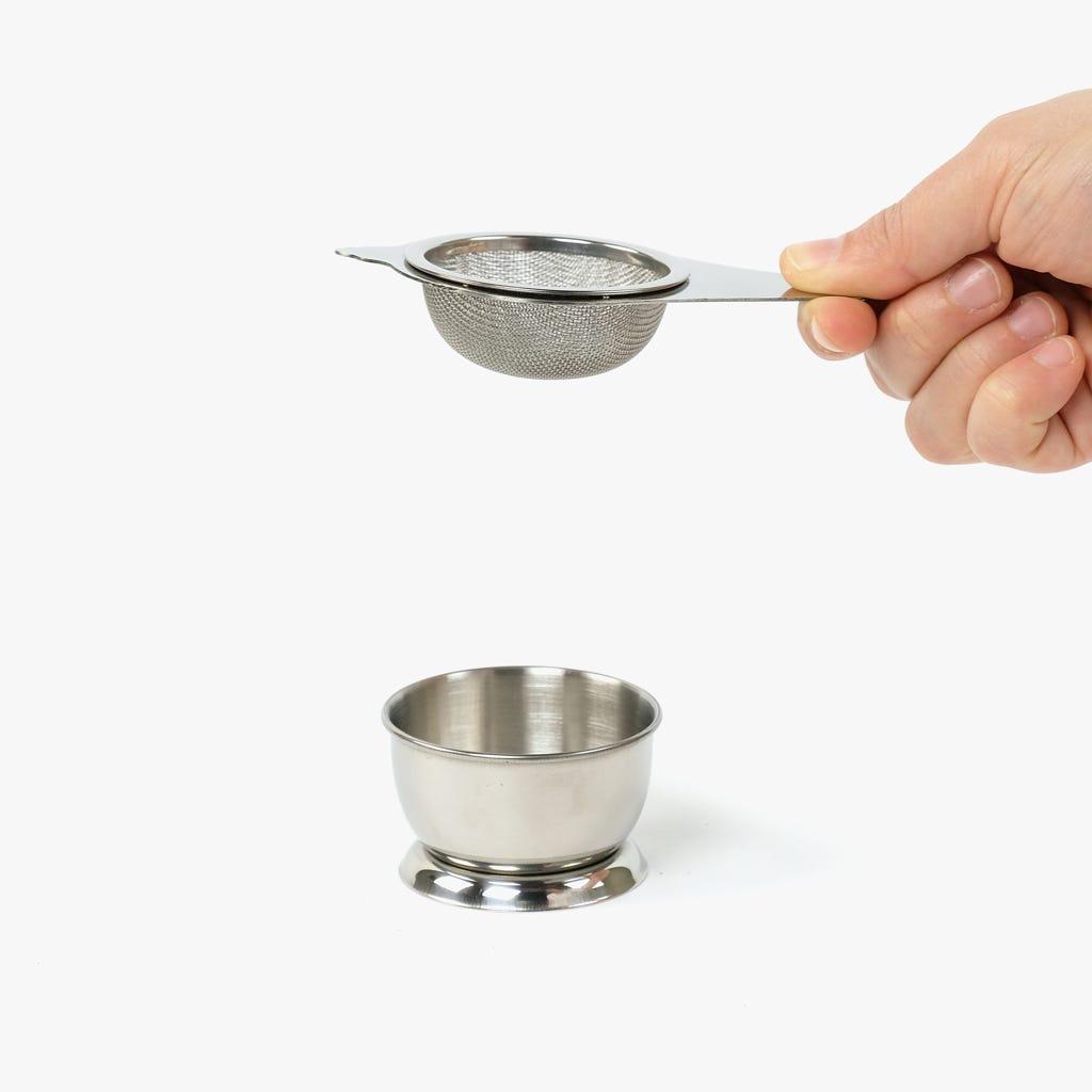 Filtro de Chá Infusor com base