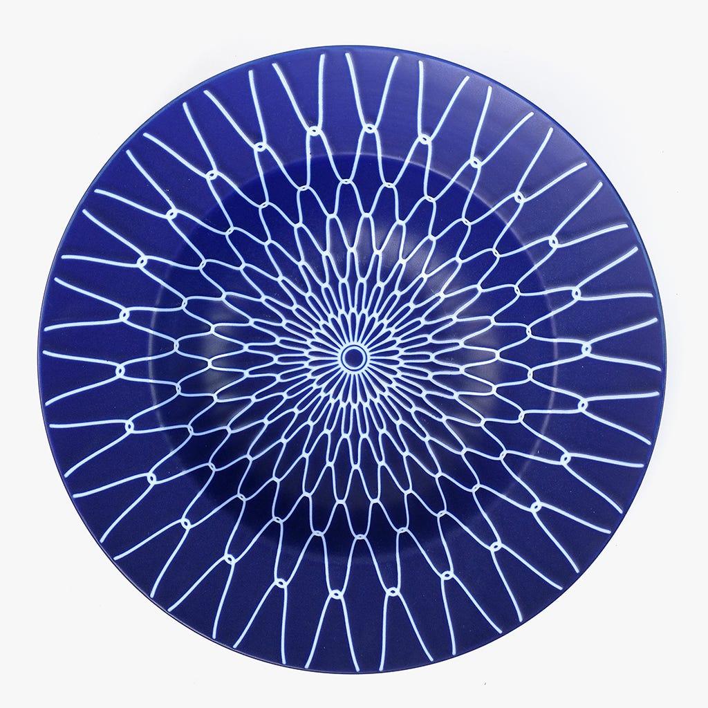 Prato de Pasta/Sopa Cosmos Azul 26,6 cm