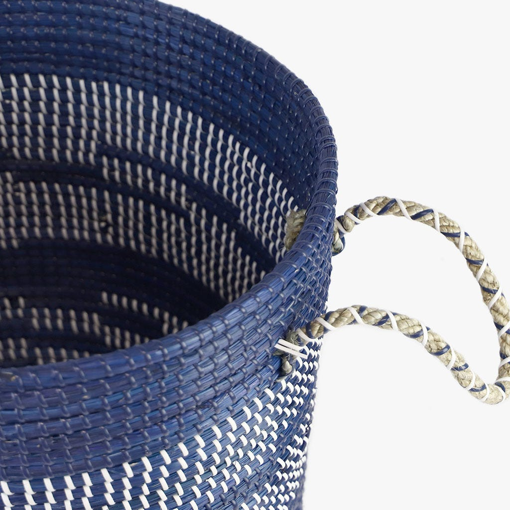 Cesto Azul 42x37 cm