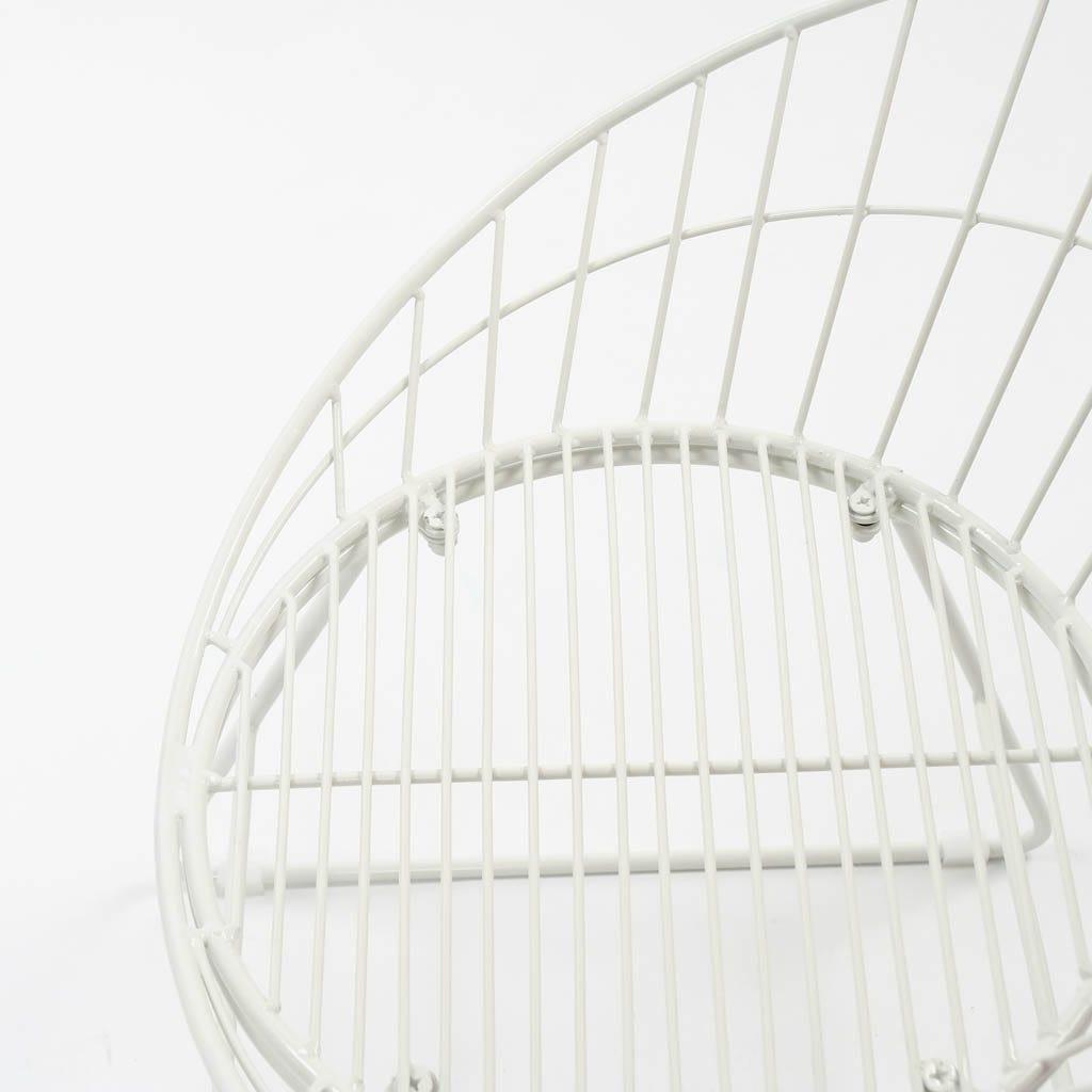 Cadeira Sicília Branco60x58x70 cm