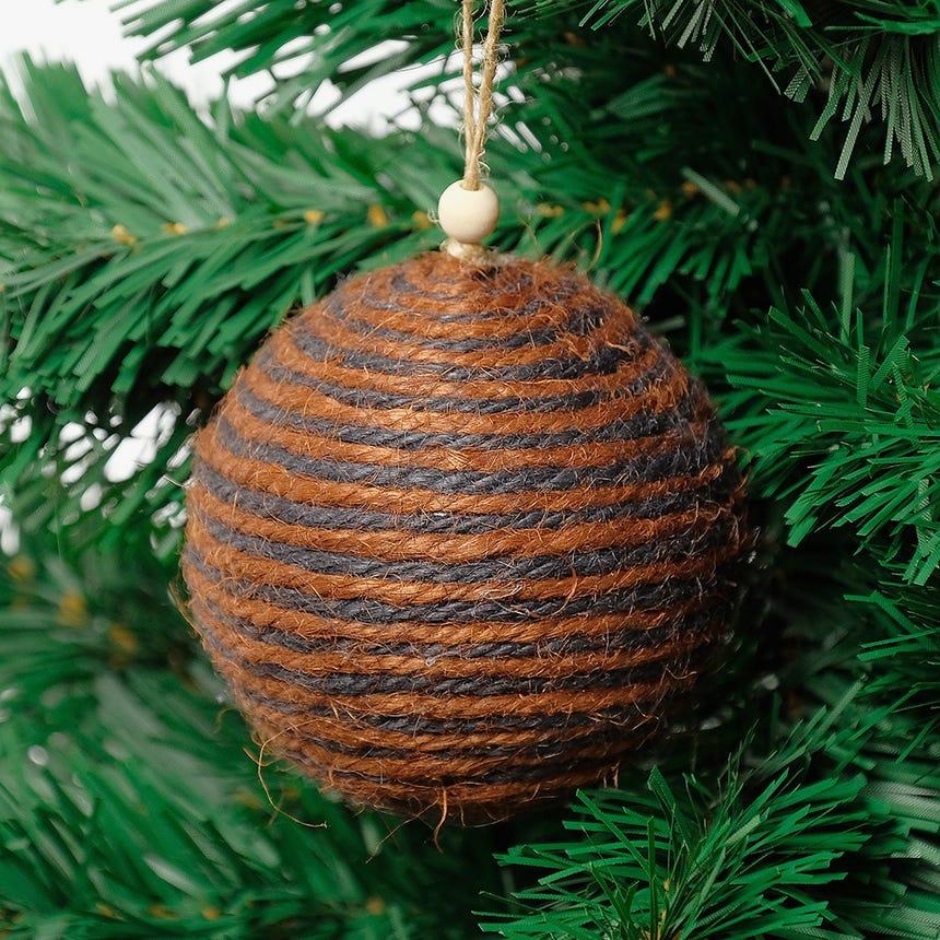 Bola de Natal Corda 8 cm
