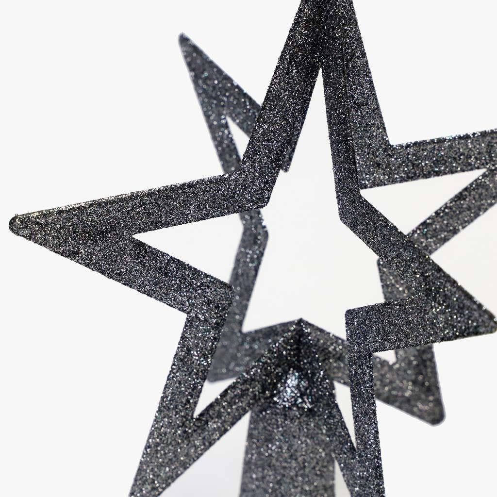 Estrela Cinza 20 cm