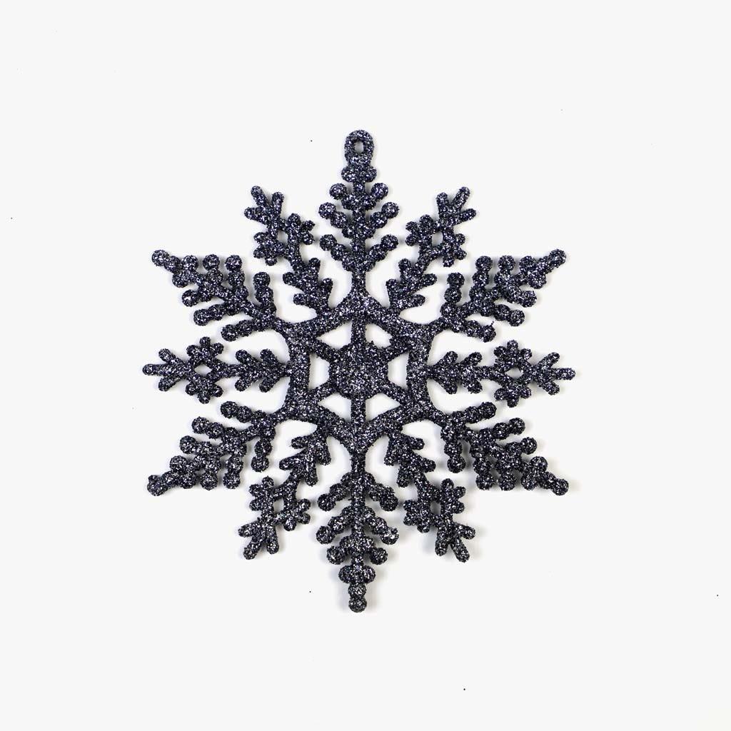 Flocos de Neve Cinza (conjunto12)