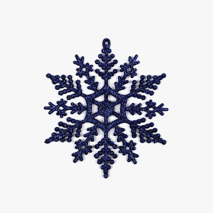 Flocos de Neve Azul (conjunto12)