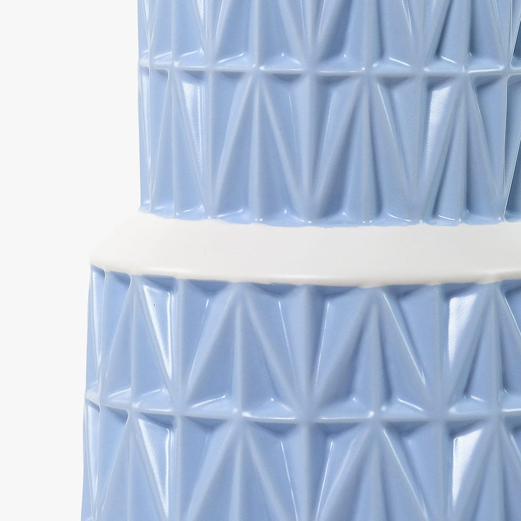 Jarra Azul 16x16x48 cm