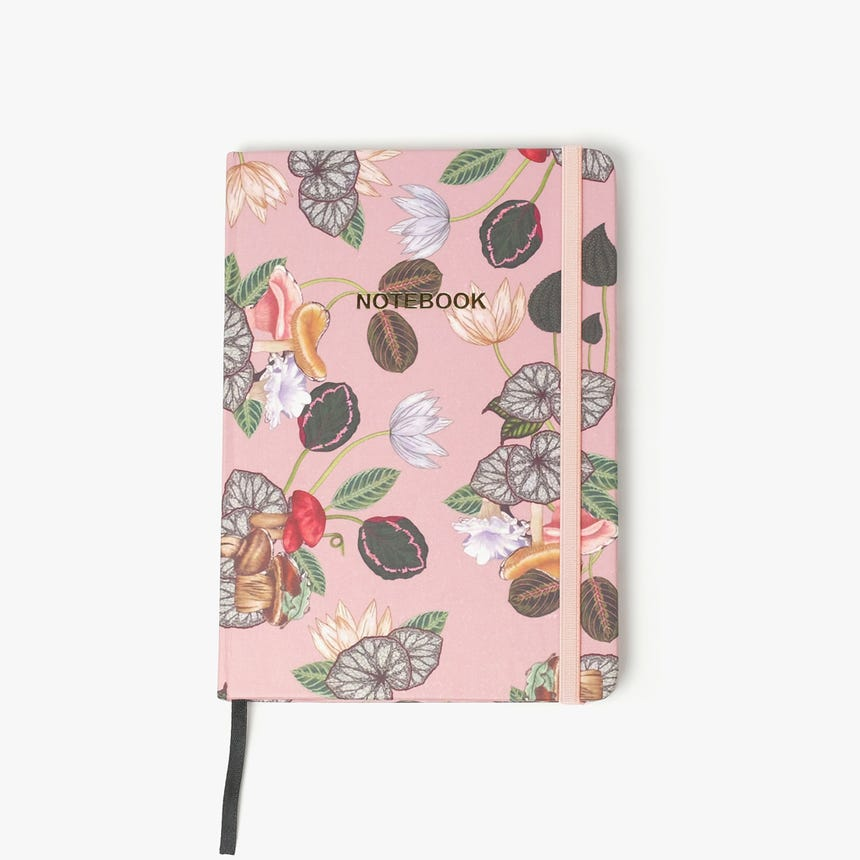 Caderno de notas Greenery 16x21 cm A5