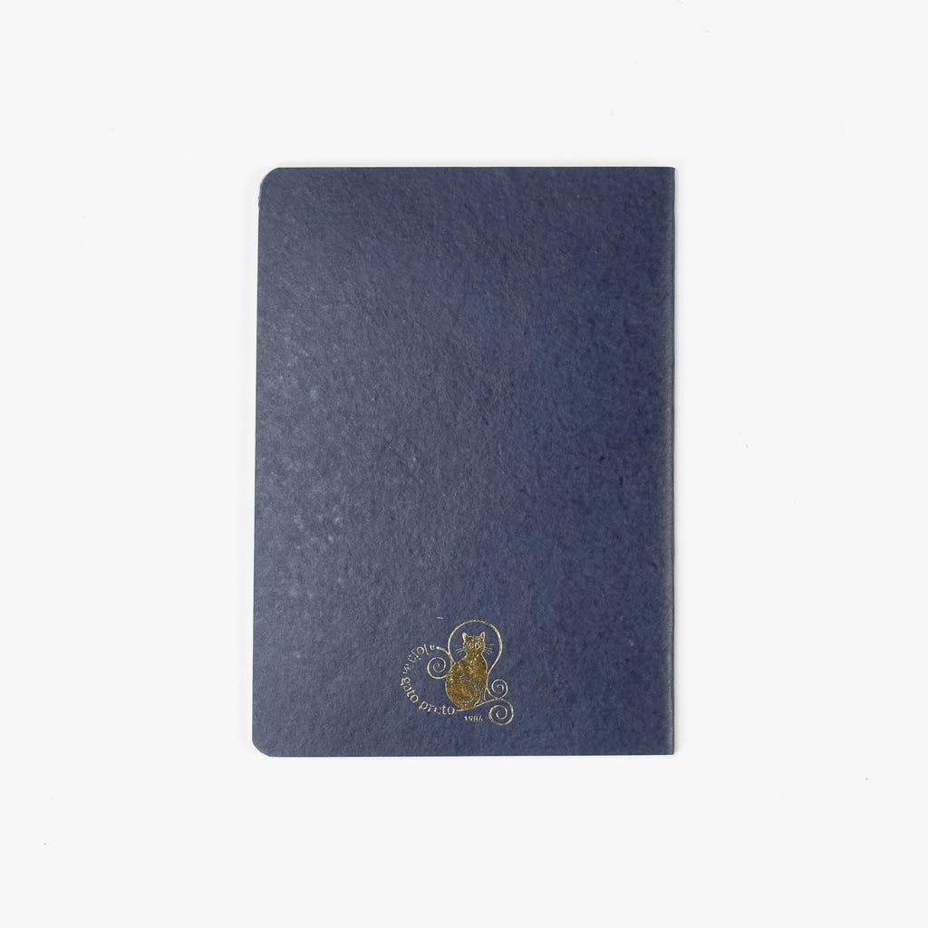 Caderno Pestanas Azul15x21 cm