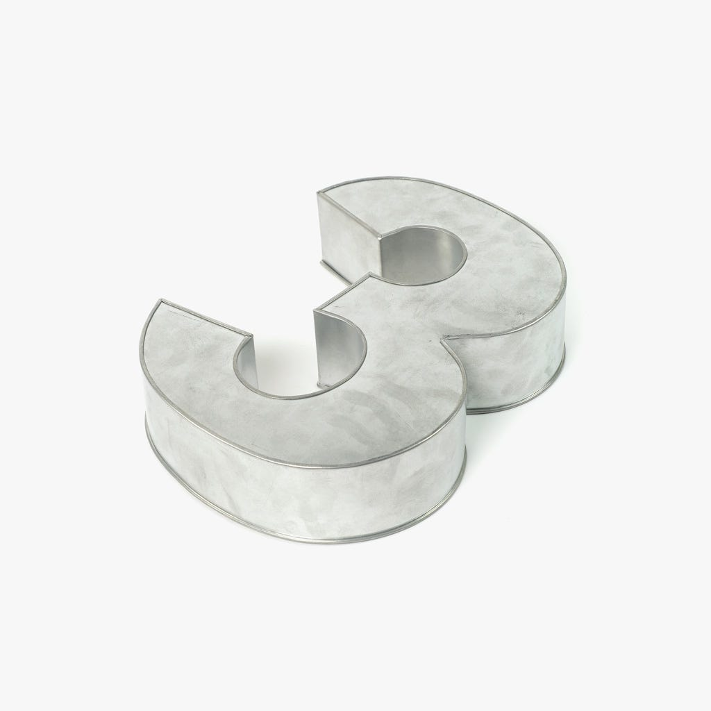 Forma de Bolo 3 35x25x7,5 cm