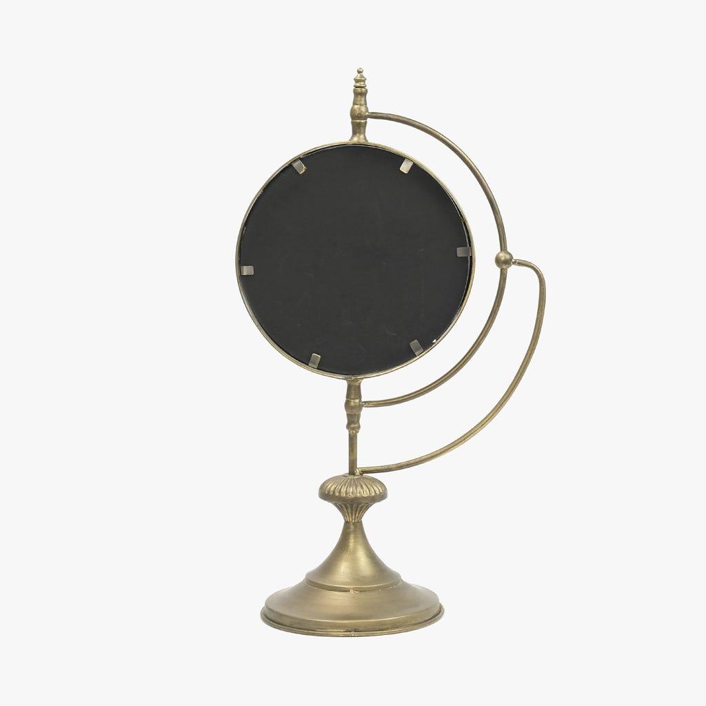 Espelho Globo Dourado35,5x62 cm