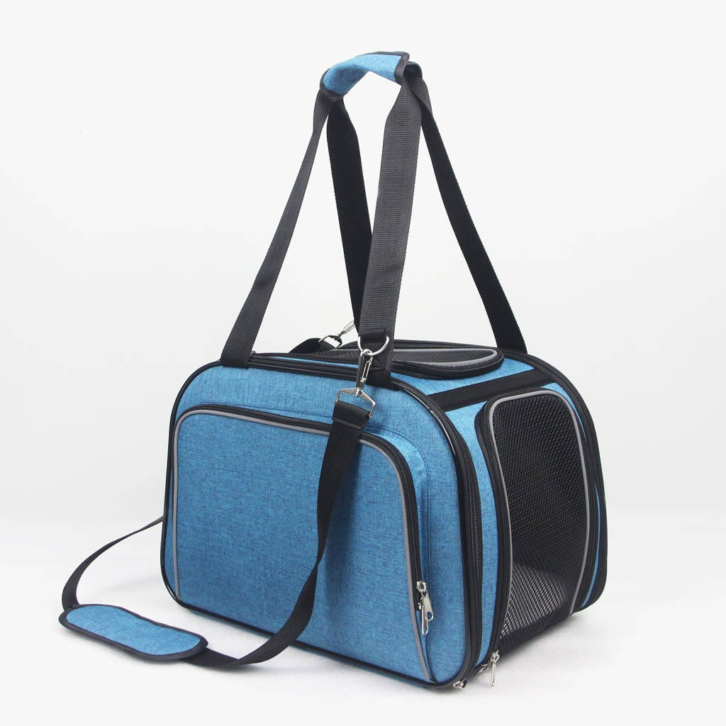 Transportadora de Animais Azul42x28x29 cm