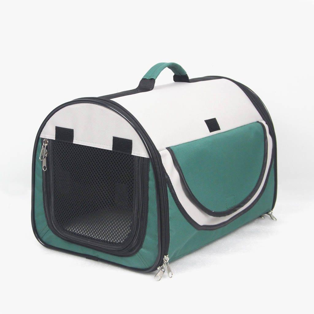 Transportadora de Animais Verde 44,5x29x29 cm
