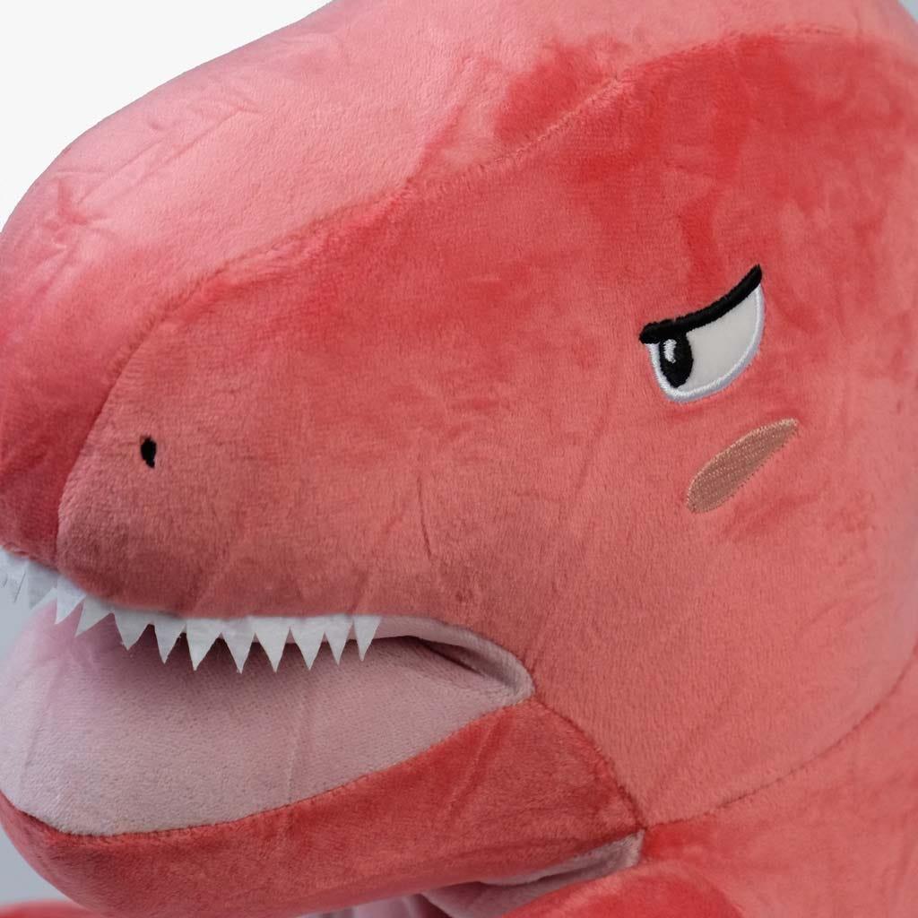 Dinossauro rosa 34 cm