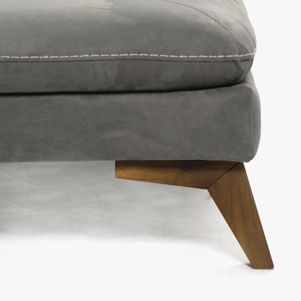 Chaise Hanks Cinza90x110x80 cm