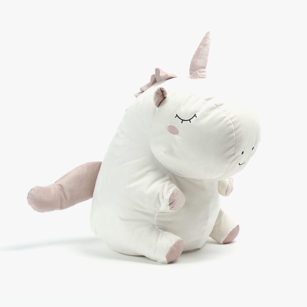 Peluche Unicórnio Branco40x26x28 cm