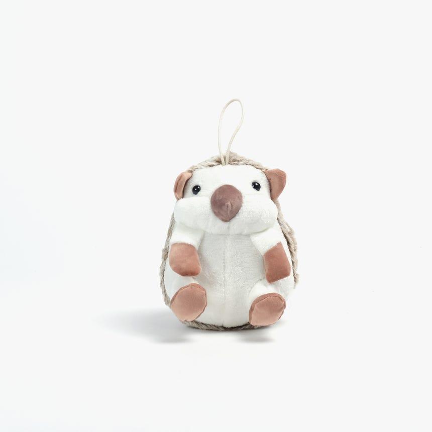 Peluche Ouriço Branco18x18x20 cm