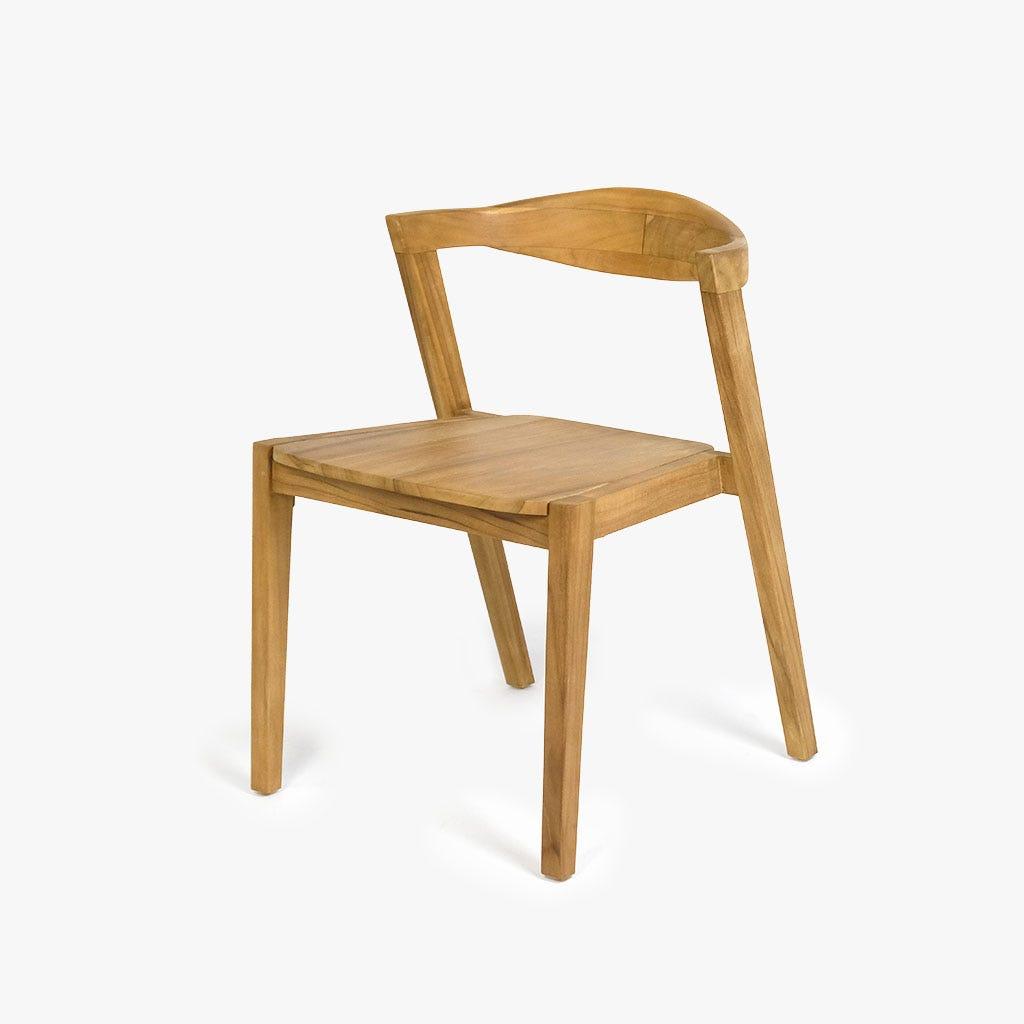 Mesa + 4 cadeiras Teca